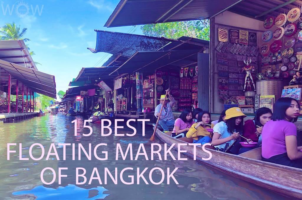 15 Best Floating Markets of Bangkok