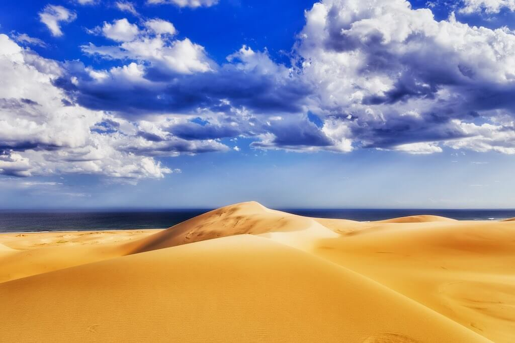 Stockton Sand Dunes, Australia