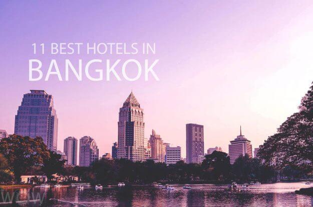 11 mejores hoteles en Bangkok