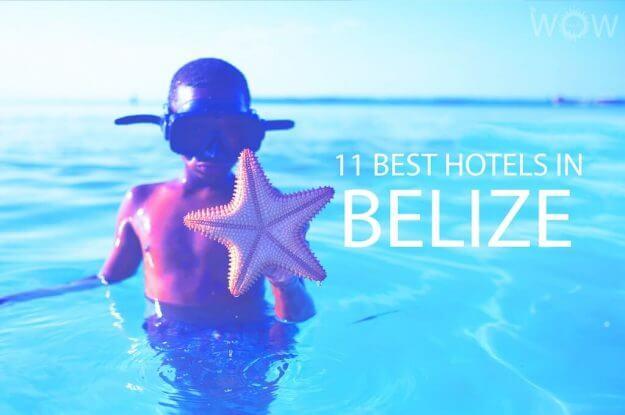 11 mejores hoteles en Belice