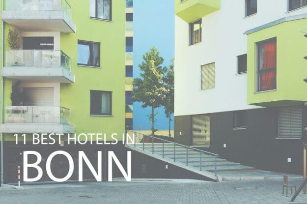 11 Mejores Hoteles en Bonn
