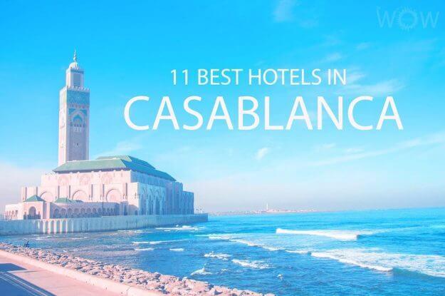 11 mejores hoteles en Casablanca
