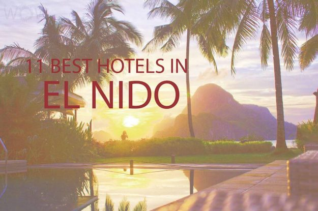 11 Best Hotels in El Nido