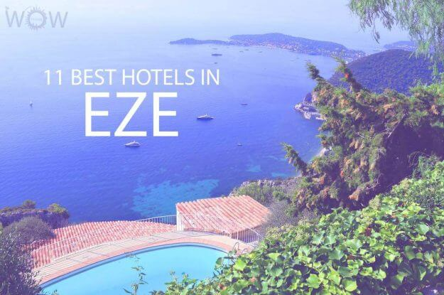 11 Best Hotels in Eze, France