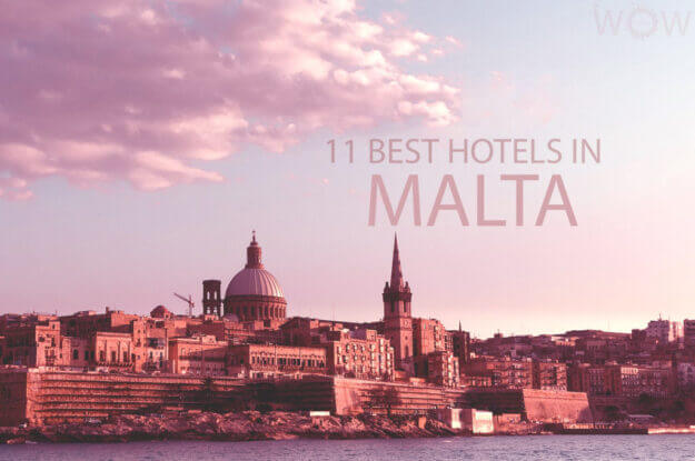 11 Best Hotels in Malta