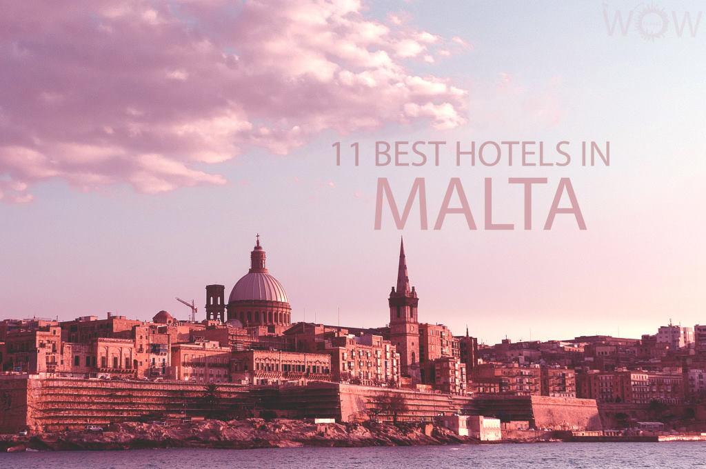 11 Best Hotels in Malta
