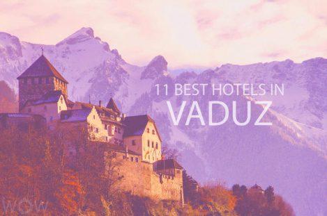 11 Best Hotels in Vaduz