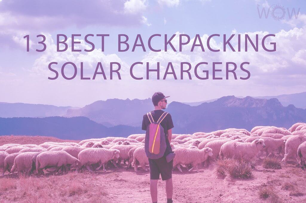 13 Best Backpacking Solar Chargers