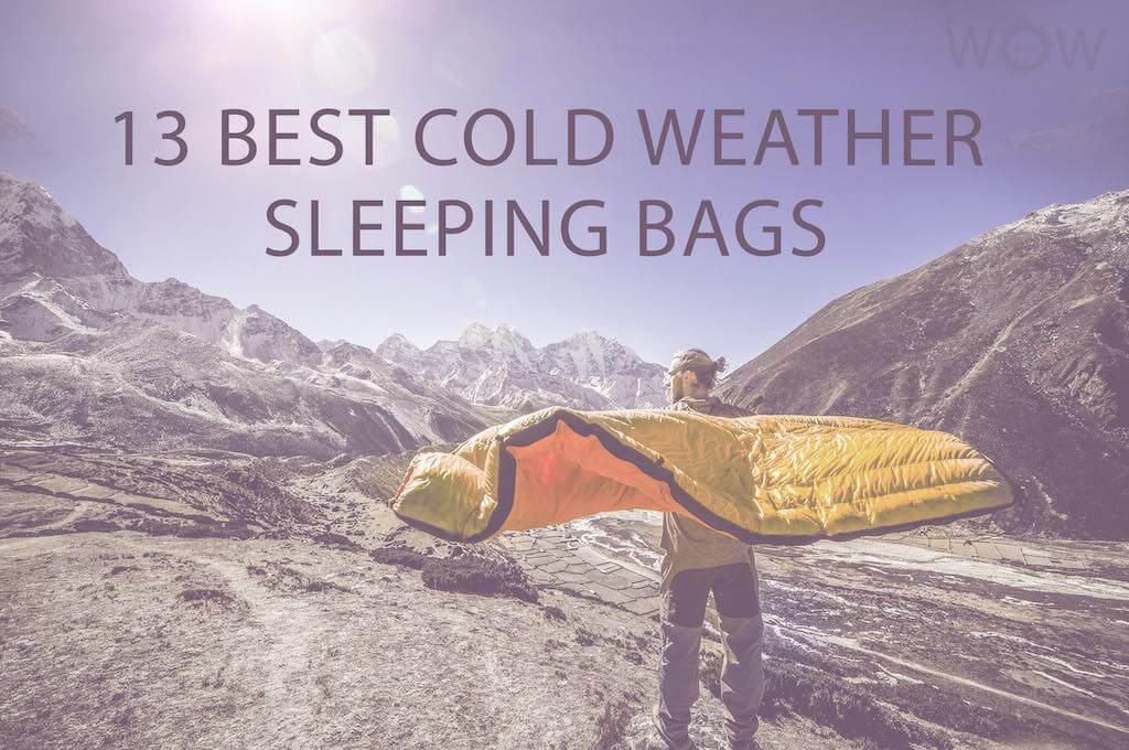 13 Best Cold Weather Sleeping Bags