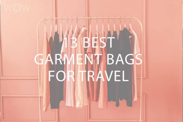 13 Best Garment Bags For Travel
