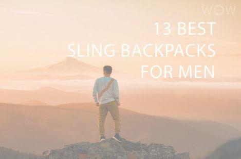 13 Best Sling Backpacks For Men