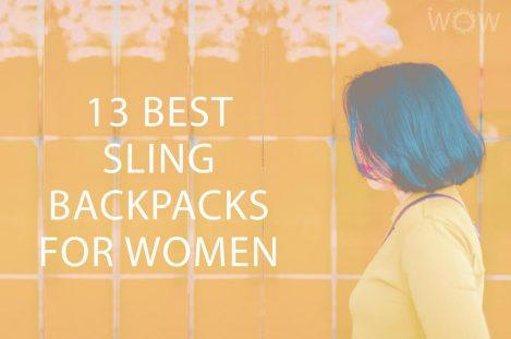 13 Best Sling Backpacks For Women