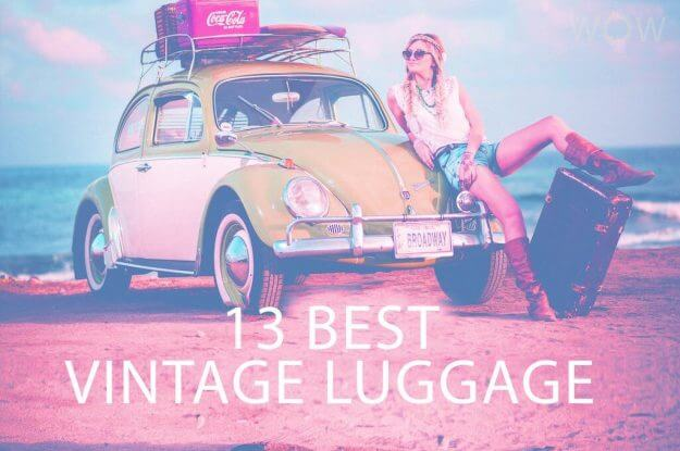 13 Best Vintage Luggage