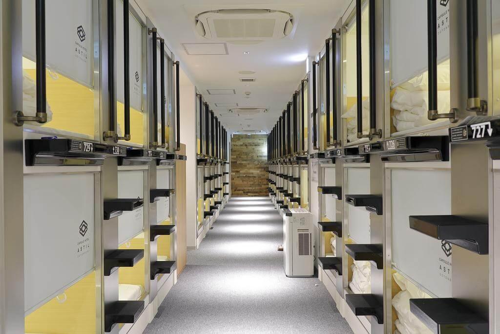Capsule Hotel Astil Dotonbori, Osaka - by Booking.com