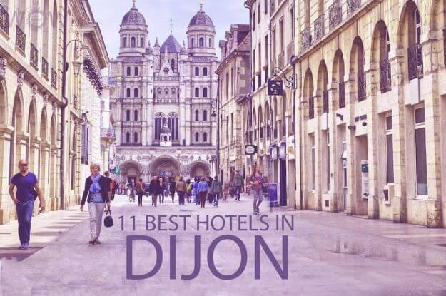 Top 11 Hotels in Dijon