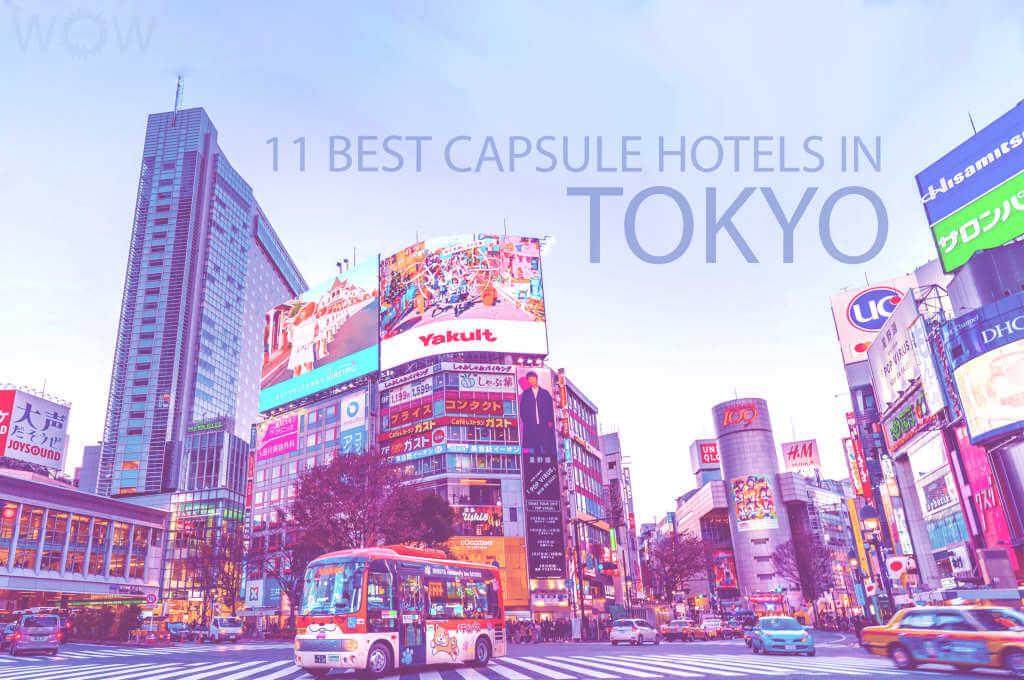 11 Best Capsule Hotels in Tokyo
