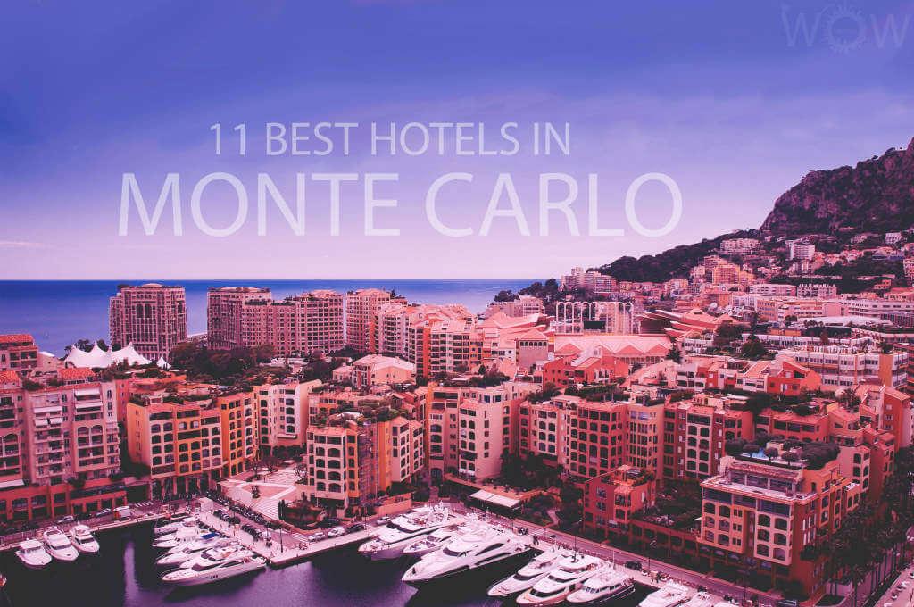 11 Best Hotels in Monte Carlo
