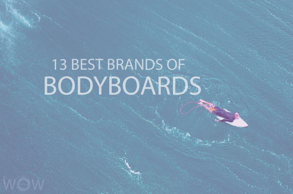 13 Best Brands of Bodyboards