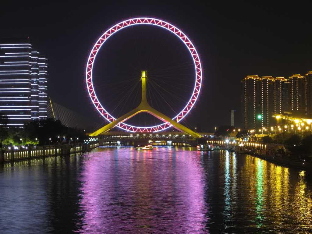 Tianjin Eye, Tianjin, China - by Ken Marshall/Flickr.com