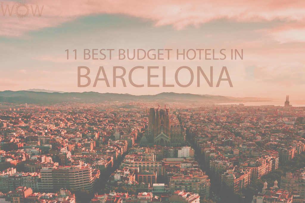 11 Mejores Hoteles Económicos en Barcelona