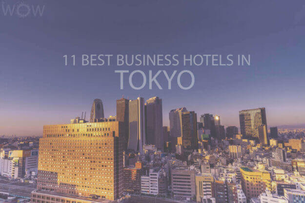 11 Best Business Hotels in Tokyo