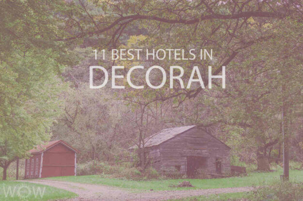 11 Best Hotels in Decorah, Iowa