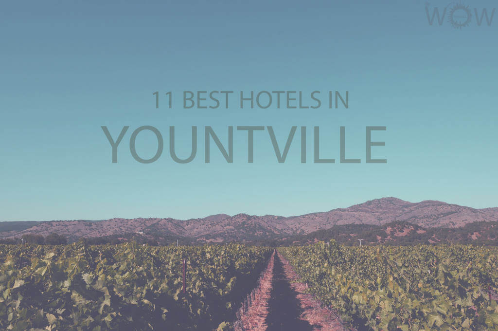 11 Best Hotels in Yountville, California