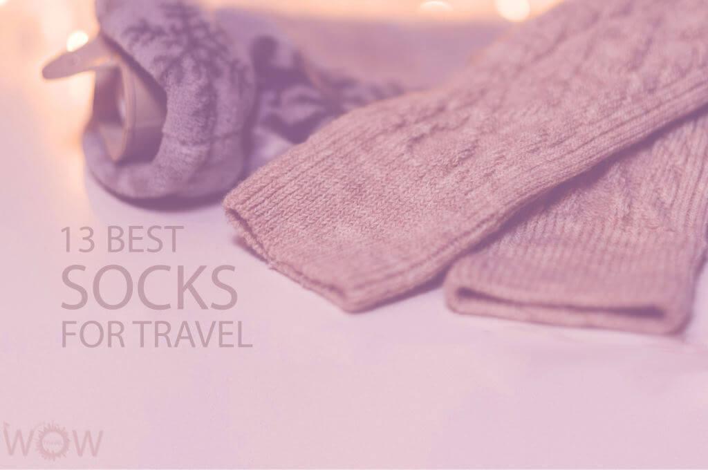 13 Best Socks for Travel