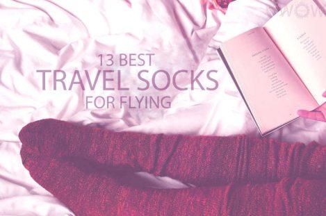13 Best Travel Socks for Flying