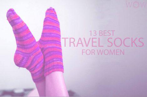 13 Best Travel Socks for Women