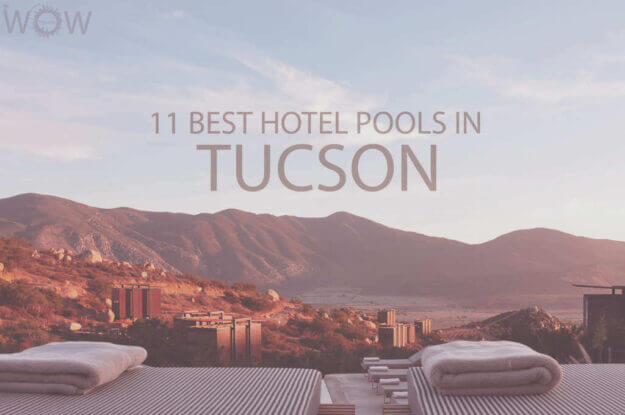 11 Best Hotel Pools In Tucson