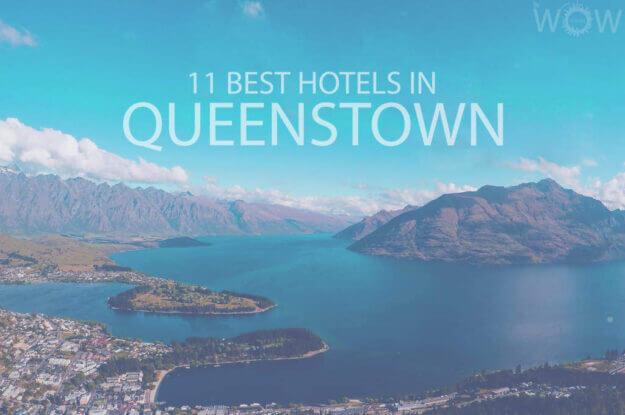 Los 11 mejores hoteles en Queenstown, Nueva Zelanda