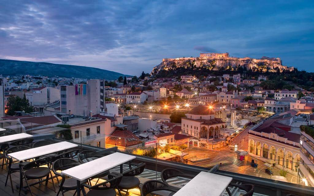 A for Athens - by Booking