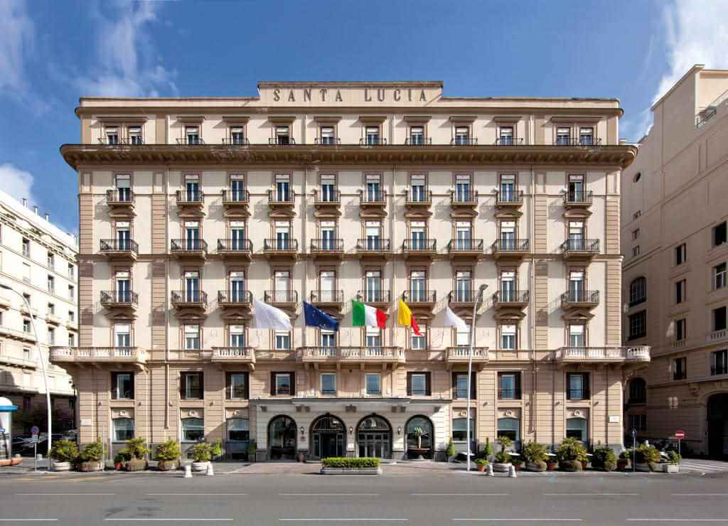 Grand Hotel Santa Lucia, Naples, Italy - by Booking