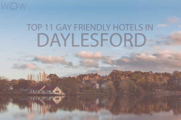Top 11 Gay Friendly Hotels In Daylesford