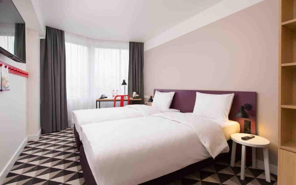 AZIMUT Hotel Smolenskaya - by Booking