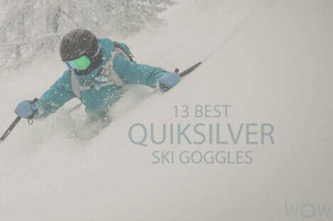 13 Best Quiksilver Ski Goggles