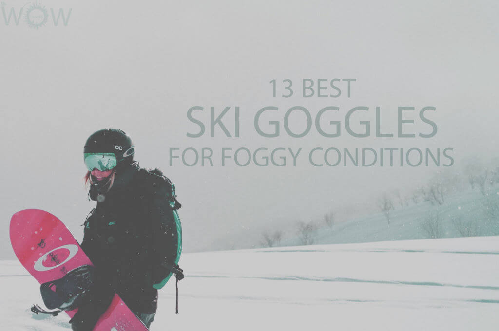 13 Best Ski Goggles for Foggy Conditions