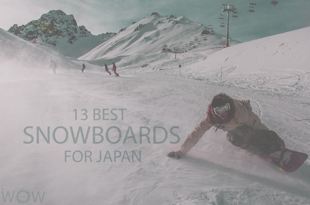 13 Best Snowboards for Japan