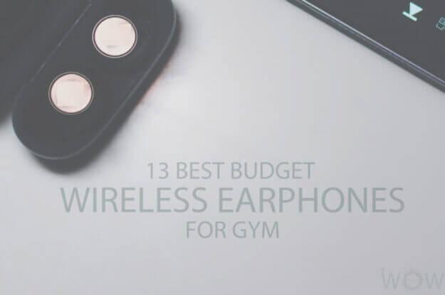 13 Best Budget Wireless Earphones for Gym