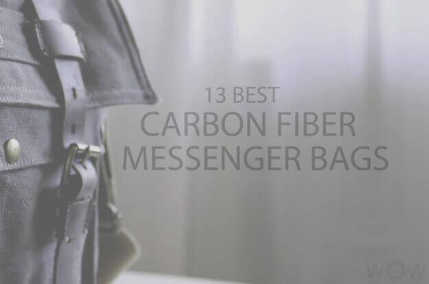 13 Best Carbon Fiber Messenger Bags