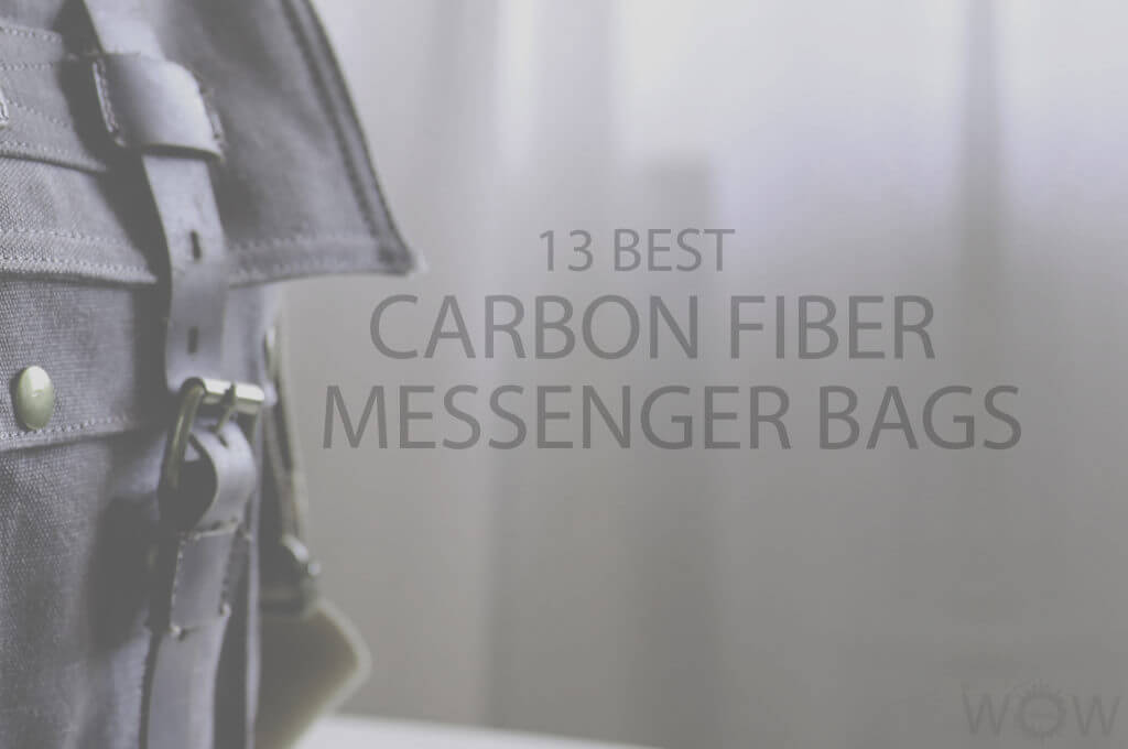 13 Best Carbon Fiber Messenger Bags