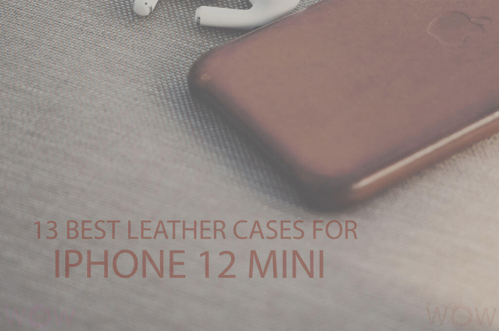 13 Best Leather Cases for iPhone 12 Mini