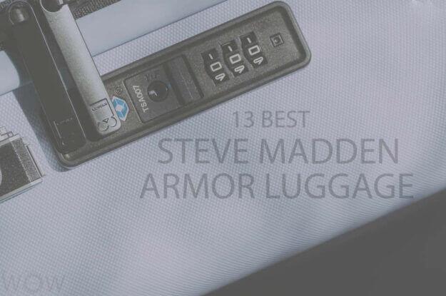 13 Best Steve Madden Armor Luggage