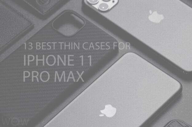 13 Best Thin Cases for iPhone 11 Pro Max