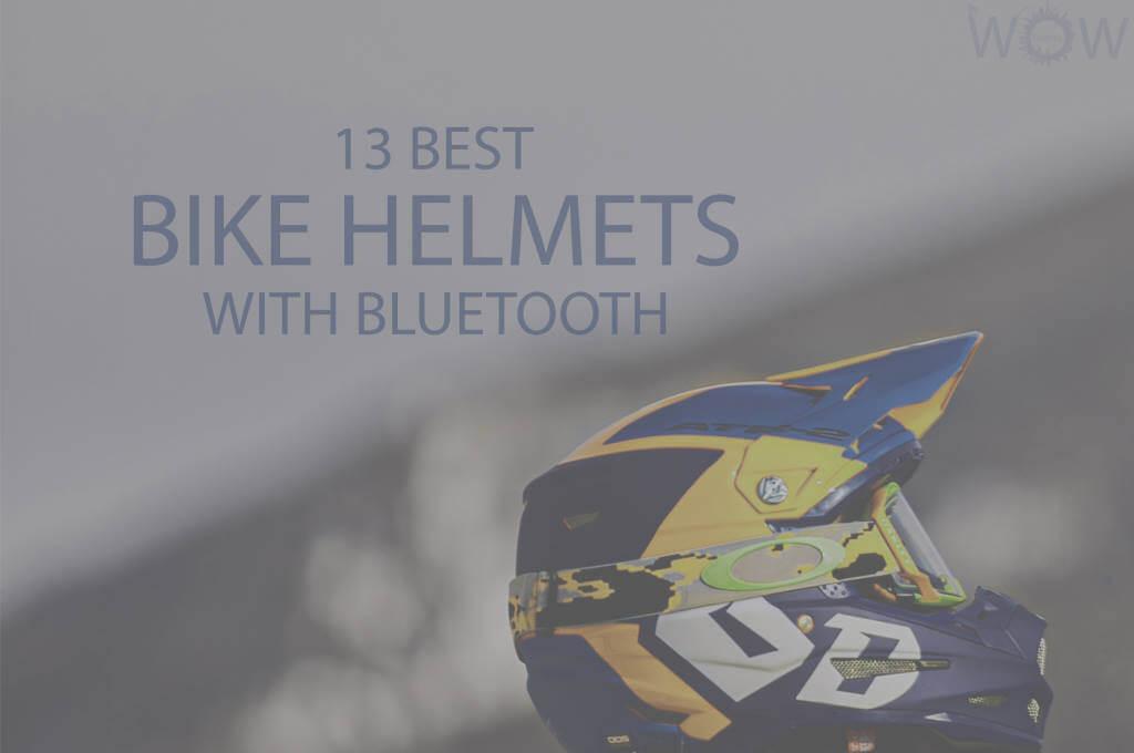 13 Best Bike Helmets with Bluetooth
