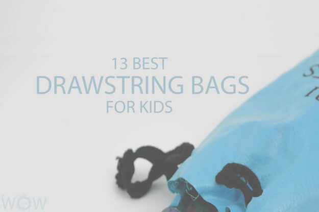 13 Best Drawstring Bags For Kids