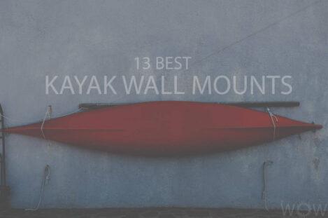 13 Best Kayak Wall Mounts