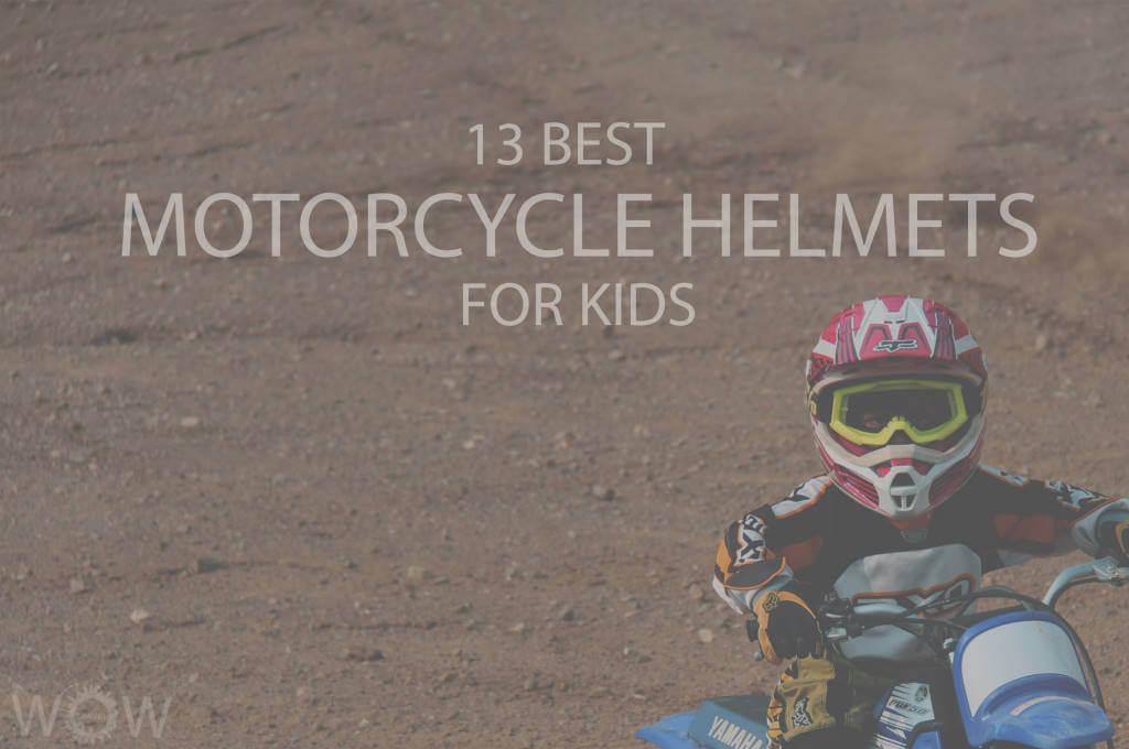 13 Best Motorcycle Helmets for Kids