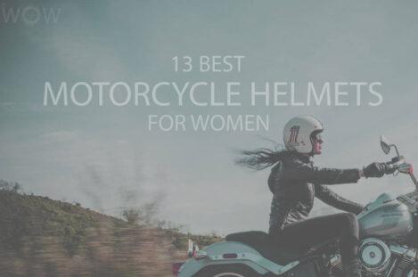 13 Best Motorcycle Helmets for Women